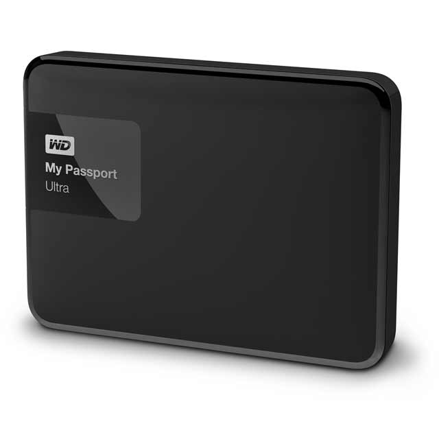 WD My Passport Ultra 2TB Hard Disk Drive - Black