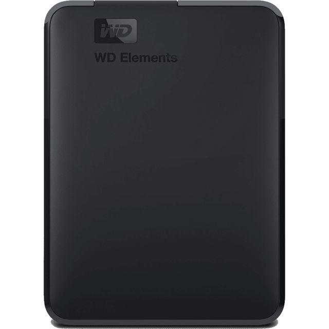 WD 2TB Portable Hard Drive - Black