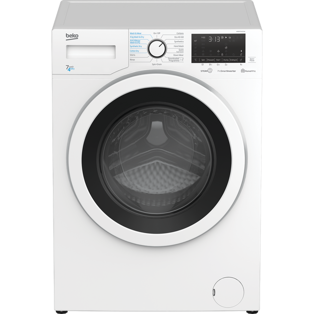 Beko WDER7440421W 7Kg / 4Kg Washer Dryer with 1400 rpm - White - WDER7440421W_WH - 1