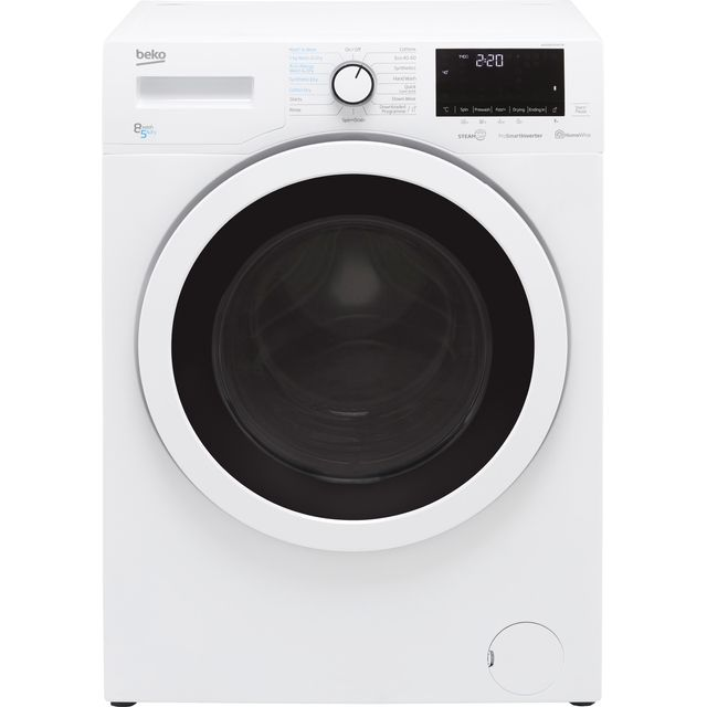 Beko WDER8540421W 8Kg / 5Kg Washer Dryer with 1400 rpm - White - D Rated