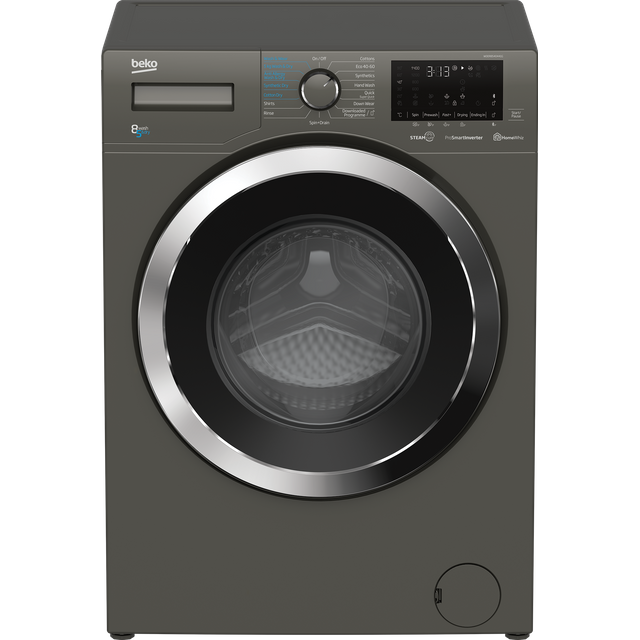 Beko WDER8540441G 8Kg / 5Kg Washer Dryer with 1400 rpm - Graphite - WDER8540441G_GH - 1