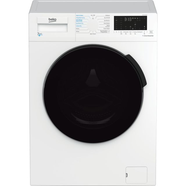 Beko WDL742431W 7Kg / 4Kg Washer Dryer with 1200 rpm - White - WDL742431W_WH - 1