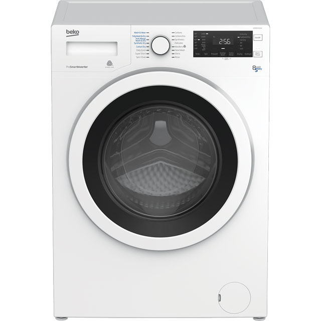 Beko WDR8543121W 8Kg / 5Kg Washer Dryer with 1400 rpm - White - A Rated