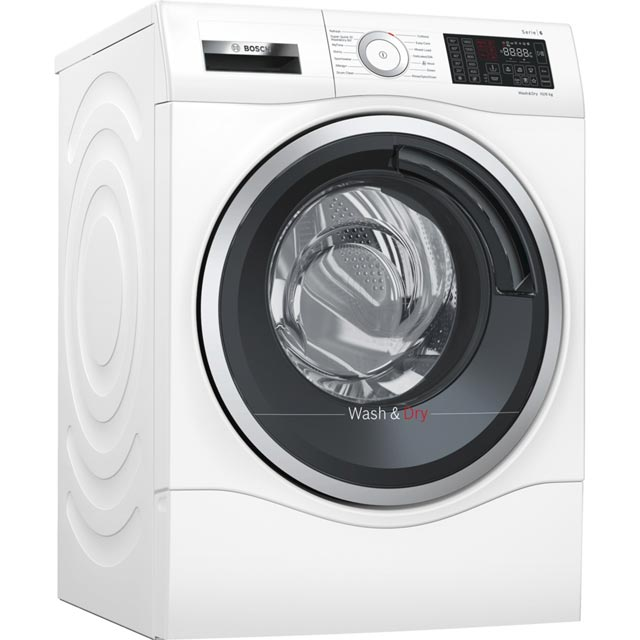 Bosch Serie 6 10Kg / 6Kg Washer Dryer - White - A Rated