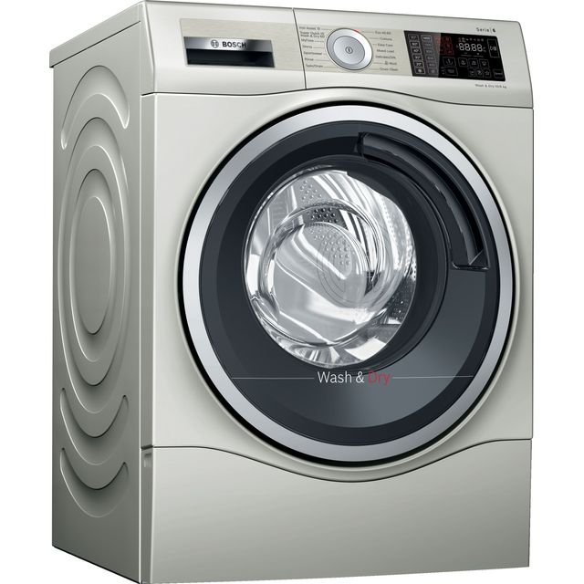Bosch WDU28569GB Serie 6 10kg Wash 6kg Dry Integrated Washer Dryer - Silver