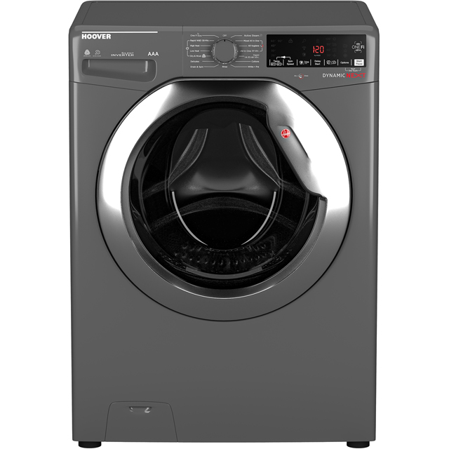 Hoover Dynamic Next WDWOAD4106AHCG Wifi Connected 10Kg / 6Kg Washer Dryer with 1400 rpm - Graphite - A Rated - WDWOAD4106AHCG_GH - 1