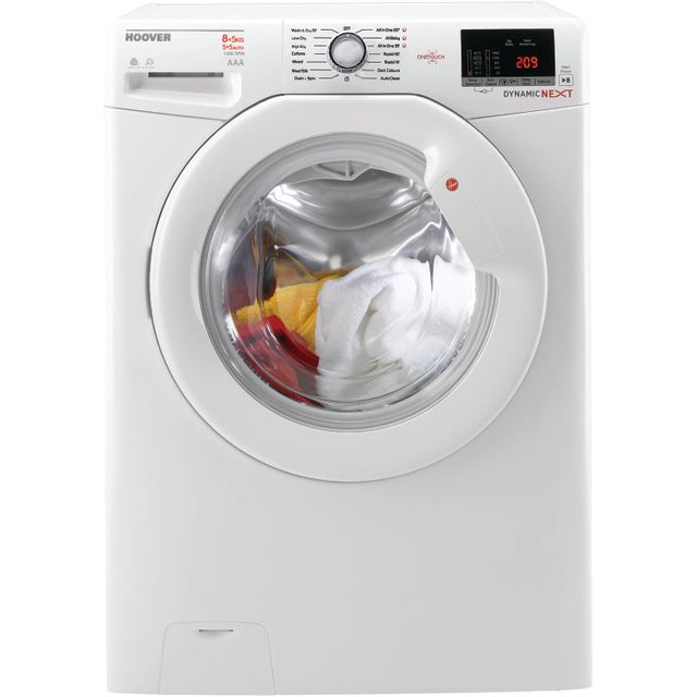 Hoover WDXOC485A/5 8Kg / 5Kg Washer Dryer with 1400 rpm - White - A Rated