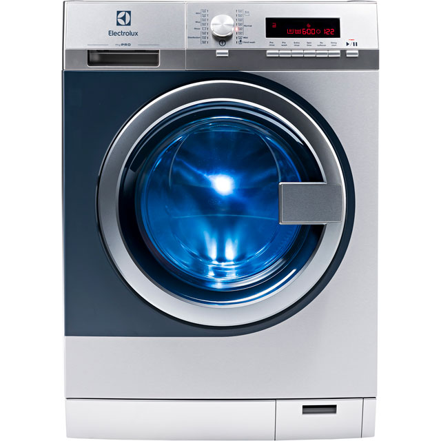 Electrolux myPro WE170P 8Kg Semi Commercial Washing Machine with 1400 rpm - Stainless Steel - A+++ Rated - WE170P_SS - 1