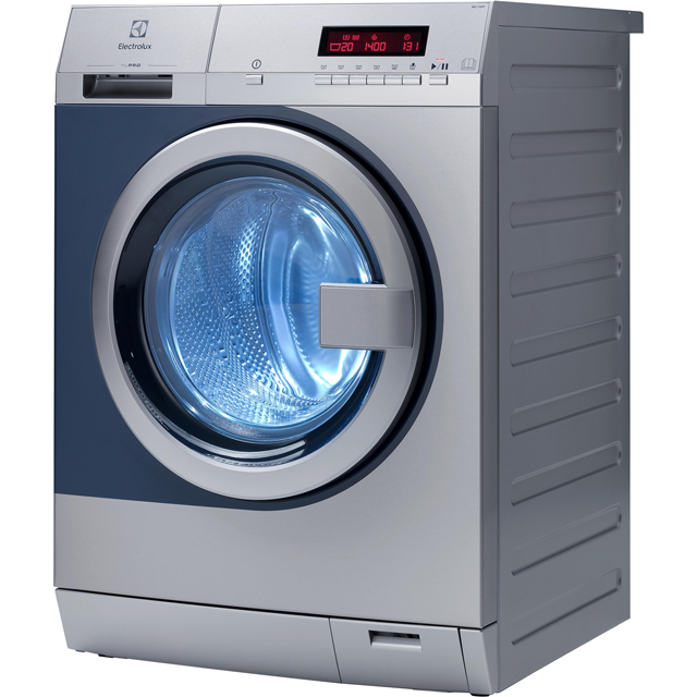 Electrolux myPro WE170PP 8Kg Semi Commercial Washing Machine with 1400 rpm - Stainless Steel - A+++ Rated - WE170PP_SS - 1