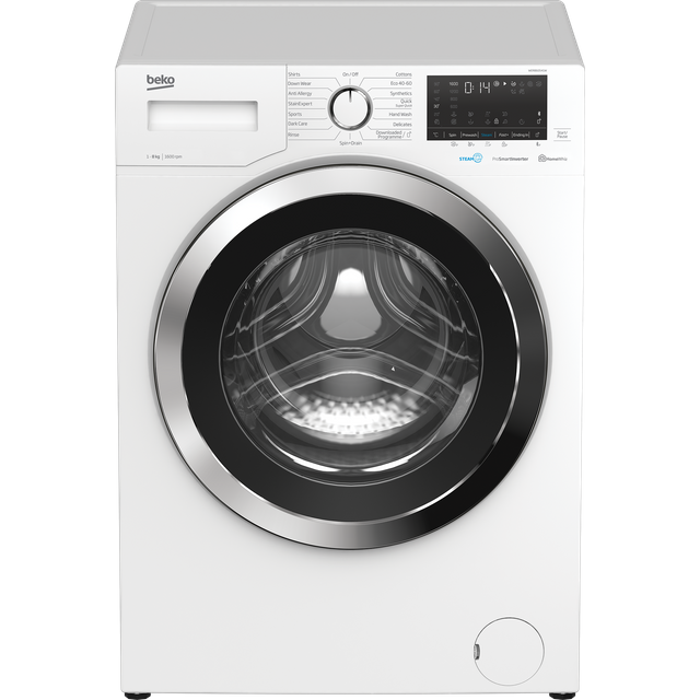 Beko WER860541W 8Kg Washing Machine - White - WER860541W_WH - 1
