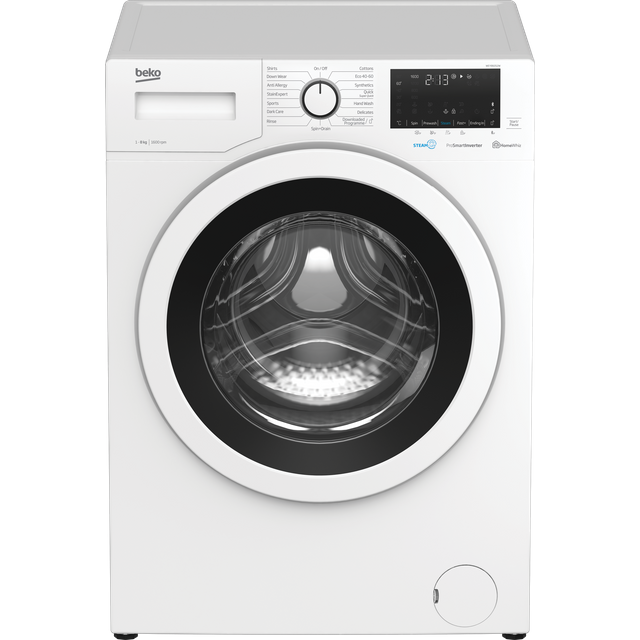 Beko WEY86052W 8Kg Washing Machine with 1600 rpm - White - A+++ Rated