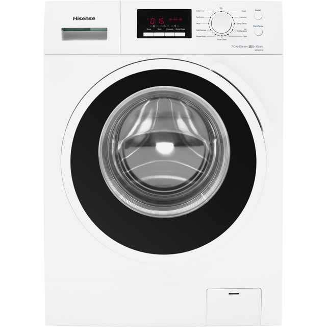 Hisense 7Kg Washing Machine - White - A+++ Rated
