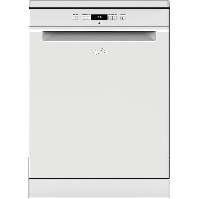 Whirlpool WFC3B19UK Standard Dishwasher - White Best Price, Cheapest Prices