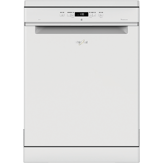 Whirlpool WFC3C24PUK Standard Dishwasher - White - A++ Rated