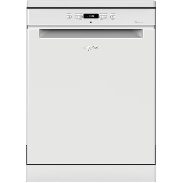 Whirlpool WFC3C24PUK Standard Dishwasher - White Best Price, Cheapest Prices