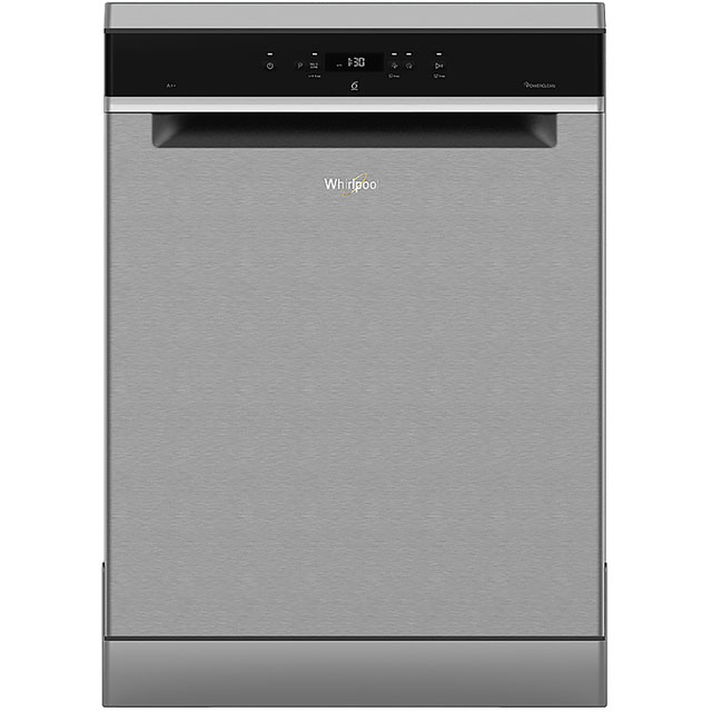 Whirlpool WFC3C24PXUK Standard Dishwasher - Stainless Steel - A++ Rated Best Price, Cheapest Prices