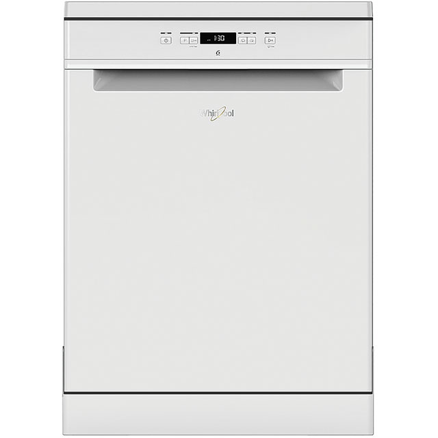 Whirlpool WFC3C26UK Standard Dishwasher - White Best Price, Cheapest Prices
