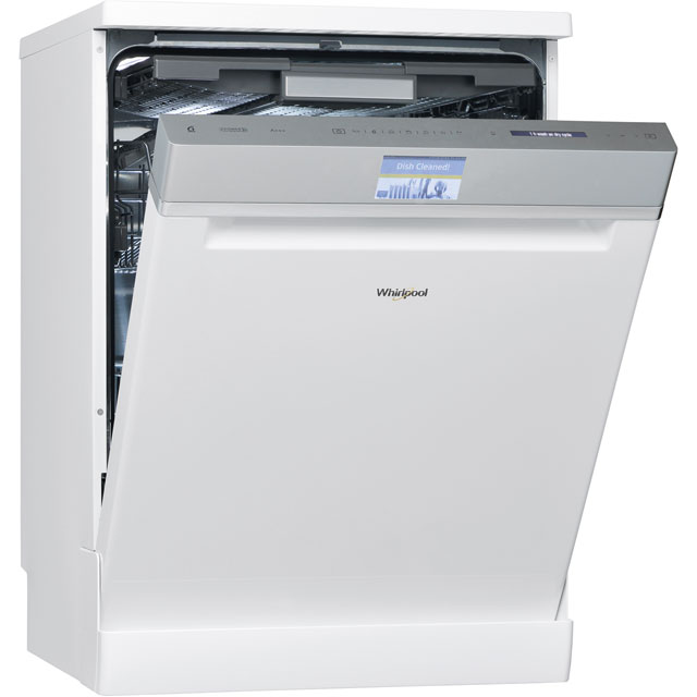 Whirlpool WFF4033DLTG Standard Dishwasher - White - A+++ Rated