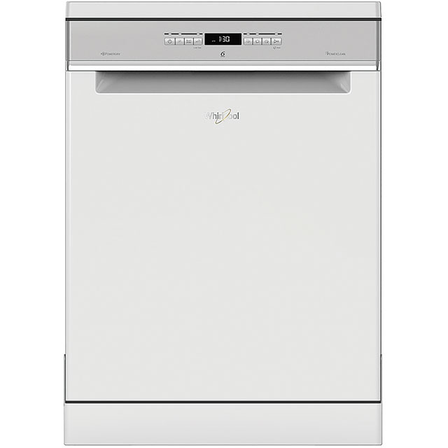 Whirlpool WFO3O32PUK Standard Dishwasher - White Best Price, Cheapest Prices