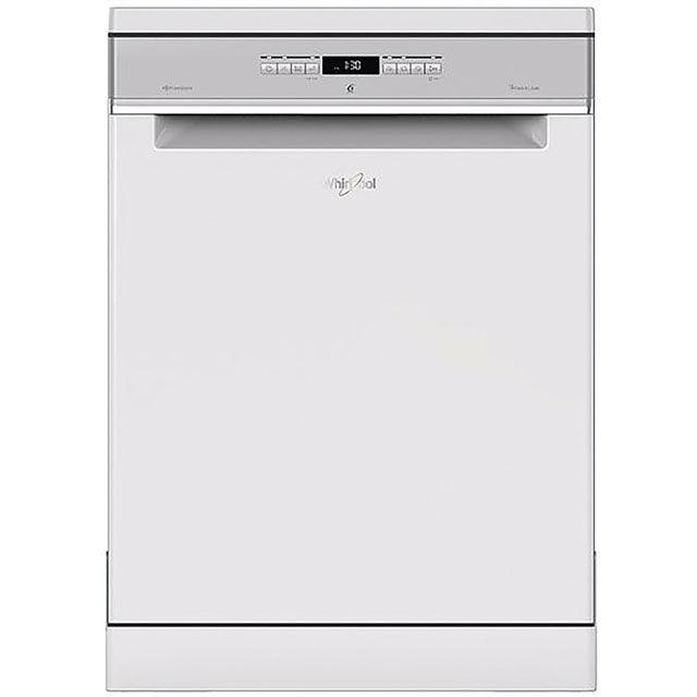 Whirlpool WFO3P33DLUK Standard Dishwasher - White Best Price, Cheapest Prices