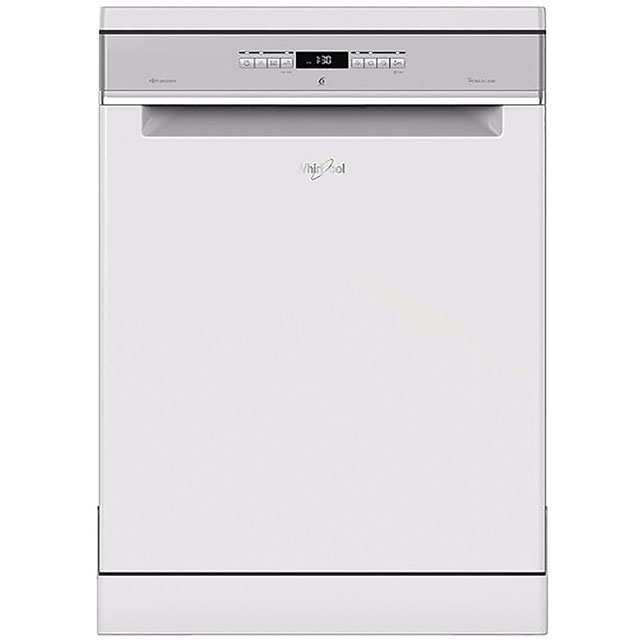 Whirlpool WFO3T3236PUK Standard Dishwasher - White Best Price, Cheapest Prices