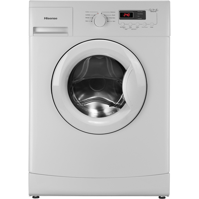 Hisense WFXE7012 7Kg Washing Machine with 1200 rpm - White - A+++ Rated - WFXE7012_WH - 1