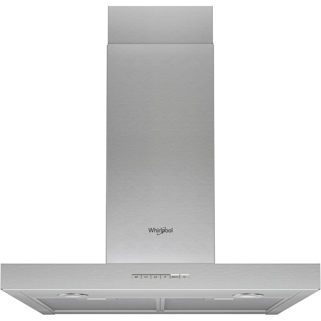 Whirlpool W Collection WHBS63FLEX 60 cm Chimney Cooker Hood - Stainless Steel - B Rated - WHBS63FLEX_SS - 1