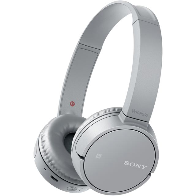 Sony CH500 On-Ear Wireless Headphones - Grey - WHCH500H.CE7 - 1