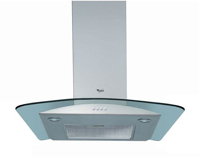 Whirlpool 60 cm Chimney Cooker Hood - Stainless Steel - E Rated
