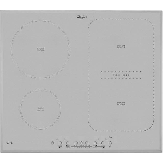 Whirlpool ACM808BA/S 58cm Induction Hob - Silver - ACM808BA/S_BK - 1
