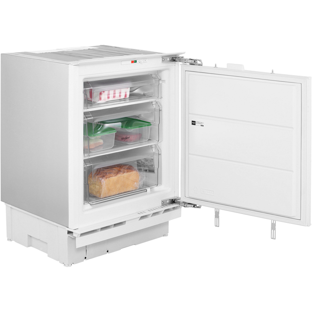 Whirlpool Integrated Under Counter Freezer with Fixed Door Fixing Kit - A+ Rated
