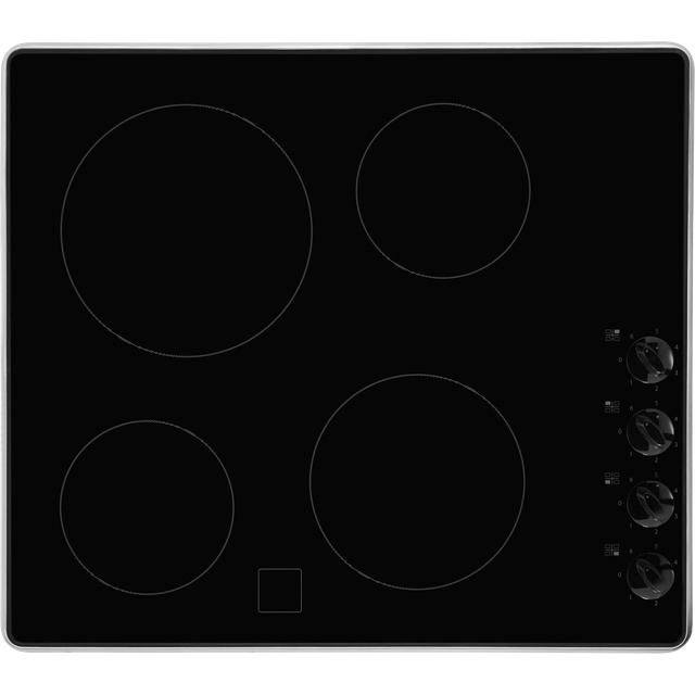 Whirlpool AKM609IX 58cm Ceramic Hob - Black