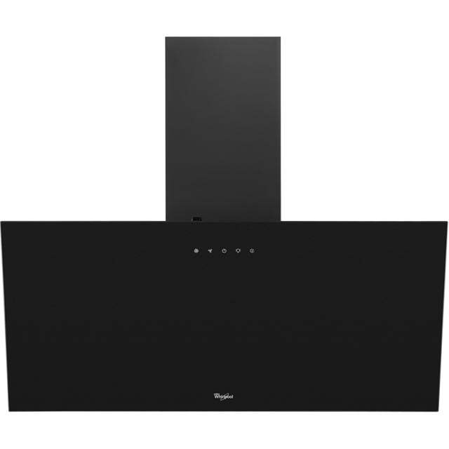 Whirlpool 80 cm Chimney Cooker Hood - Black - B Rated