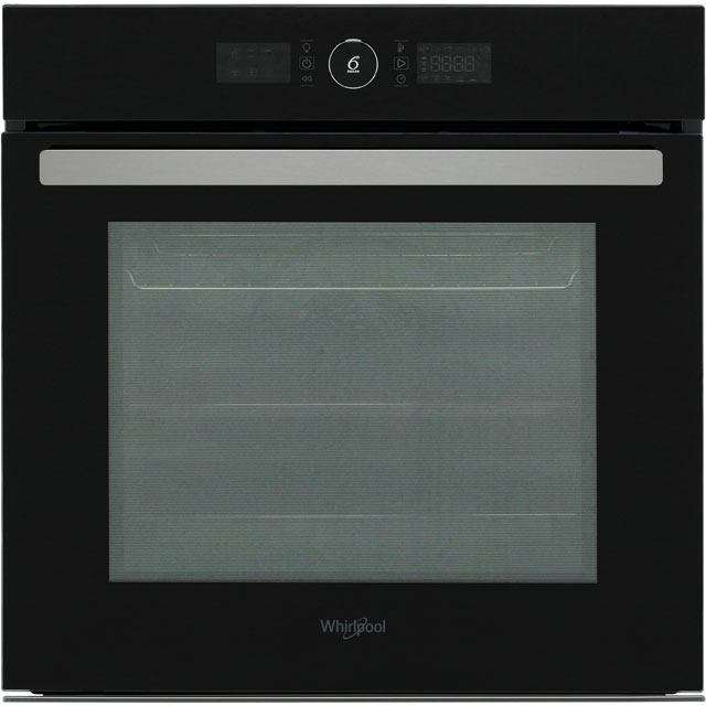 Whirlpool Absolute AKZ96230NB Built In Electric Single Oven - Black - A+ Rated - AKZ96230NB_BK - 1