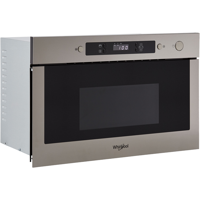 Whirlpool AMW423/IX Built In Microwave - Stainless Steel - AMW423/IX_SS - 2