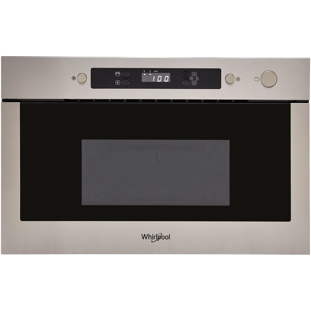 Whirlpool AMW439IX Built In MW+Grill function - Stainless Steel - AMW439IX_SS - 1