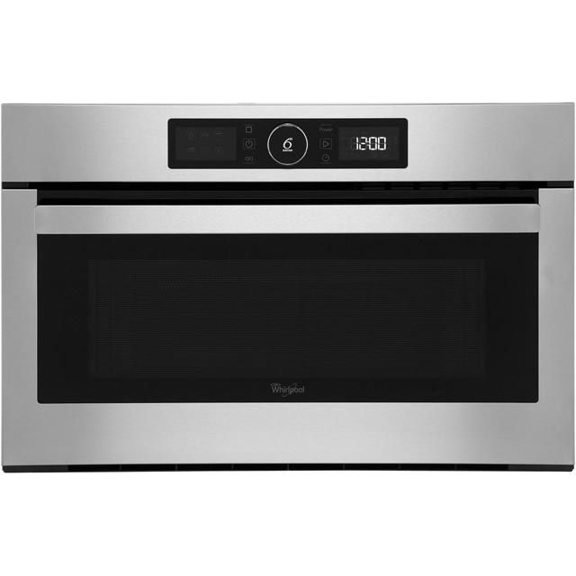 Whirlpool AMW730IX Built In Microwave With Grill - Stainless Steel - AMW730IX_SS - 1