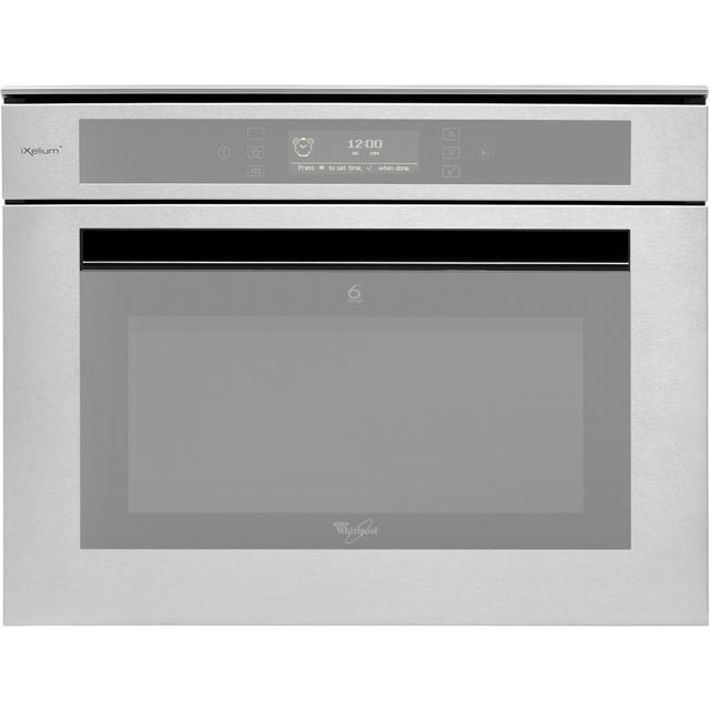 Whirlpool AMW848/IXL Built In Combination Microwave Oven - Stainless Steel - AMW848/IXL_SS - 1