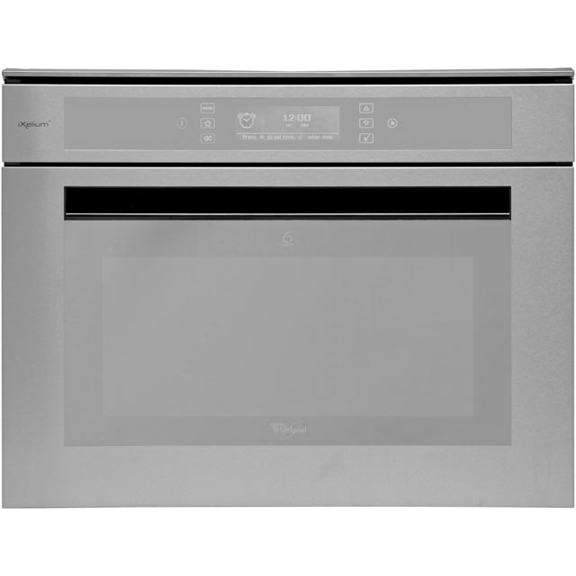 Whirlpool AMW850/IXL Built In Combination Microwave Oven - Stainless Steel