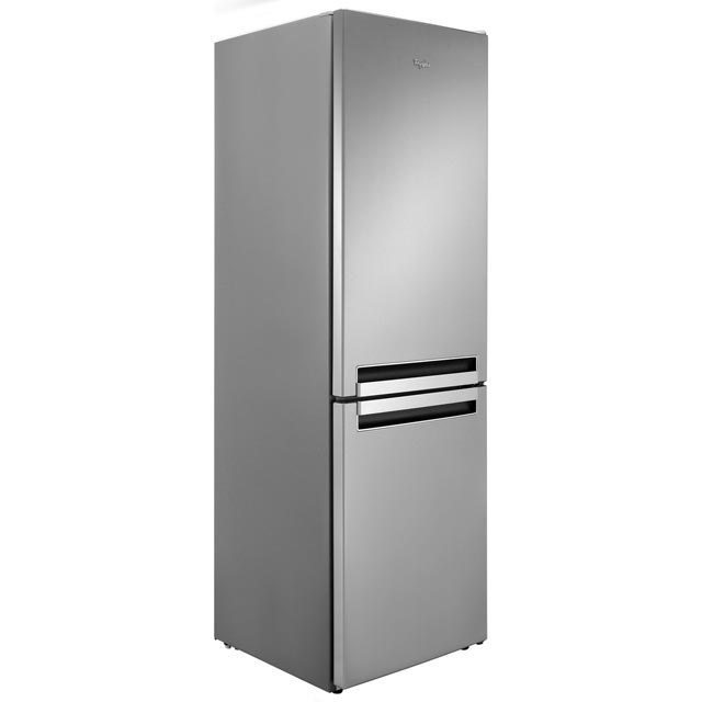 Whirlpool BLF8121OX.1 70/30 Fridge Freezer - Stainless Steel Effect - A+ Rated Best Price, Cheapest Prices