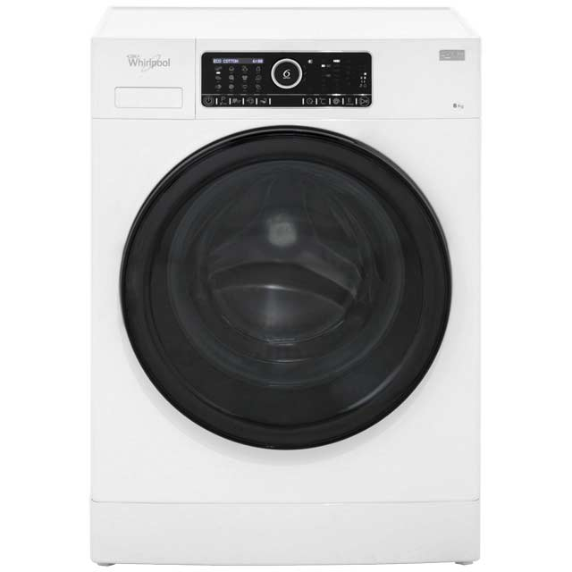 Whirlpool FSCR80433 8Kg Washing Machine with 1400 rpm - White - A+++ Rated - FSCR80433_WH - 1