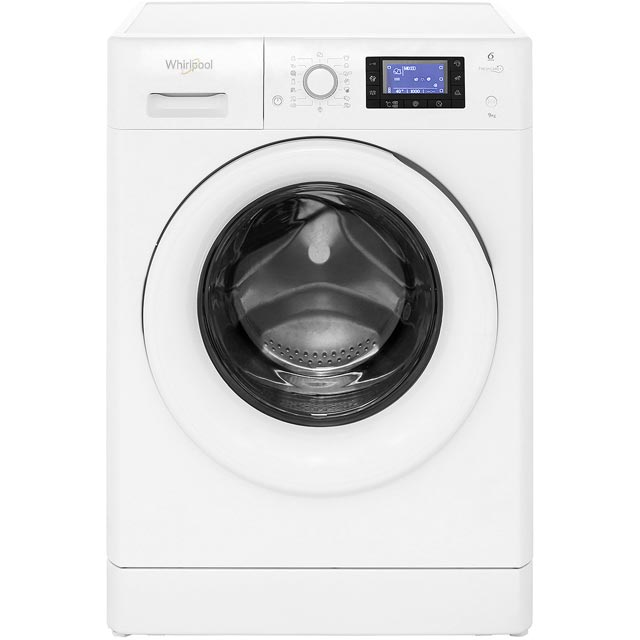 Whirlpool FreshCare+ FWD91496W 9Kg Washing Machine with 1400 rpm - White - A+++ Rated - FWD91496W_WH - 1