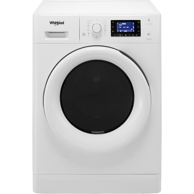 Whirlpool FWDD1071681W 10Kg / 7Kg Washer Dryer - White - FWDD1071681W_WH - 1
