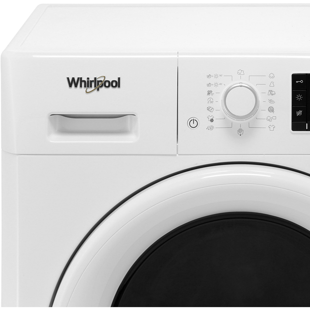 Whirlpool FWDD1071681W Washer Dryer - White - FWDD1071681W_WH - 2