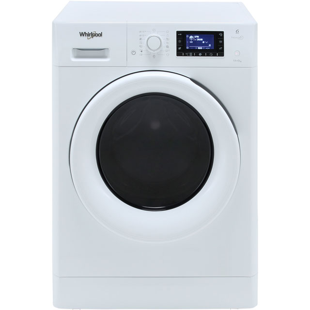 Whirlpool FreshCare FWDD117168W Washer Dryer - White - FWDD117168W_WH - 1