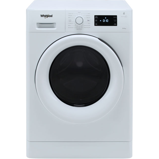 Whirlpool FreshCare FWDG86148W Washer Dryer - White - FWDG86148W_WH - 1