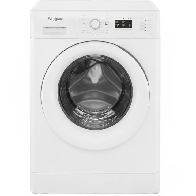 Whirlpool FWL71253WUK 7Kg Washing Machine with 1200 rpm - White - FWL71253WUK_WH - 1