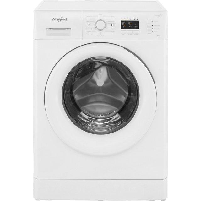 Whirlpool FWL71253WUK 7Kg Washing Machine with 1200 rpm - White - A+++ Rated - FWL71253WUK_WH - 1