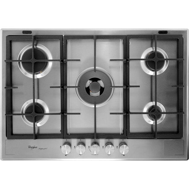 Whirlpool GMF7522/IXL Built In Gas Hob - Stainless Steel - GMF7522/IXL_SS - 1