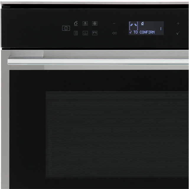 Whirlpool W Collection W7MW461UK Built In Combination Microwave Oven - Stainless Steel - W7MW461UK_SS - 2